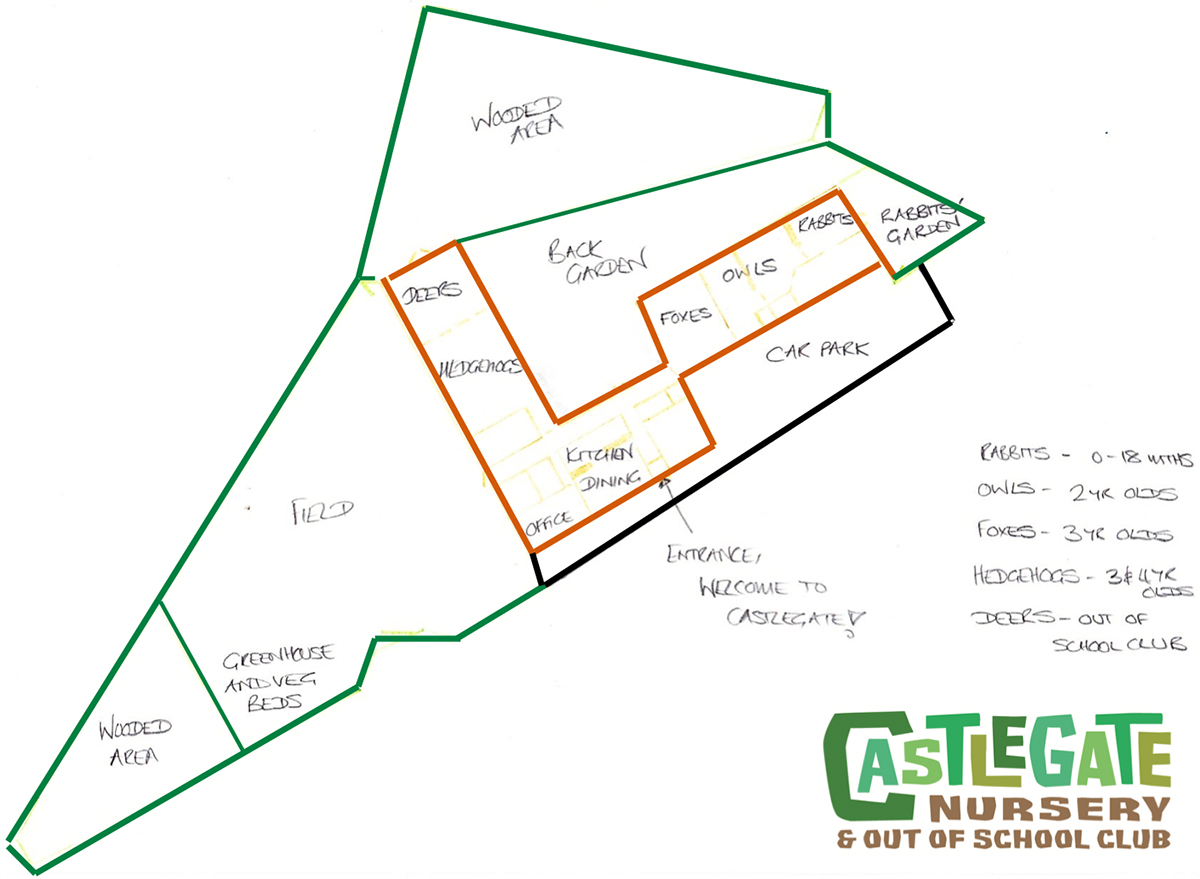 Castlegate Nursery & Out of School Club - floor plan